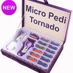 Callus Remover Emjoi Micro-Pedi Tornado Rechargeable Professional Kit